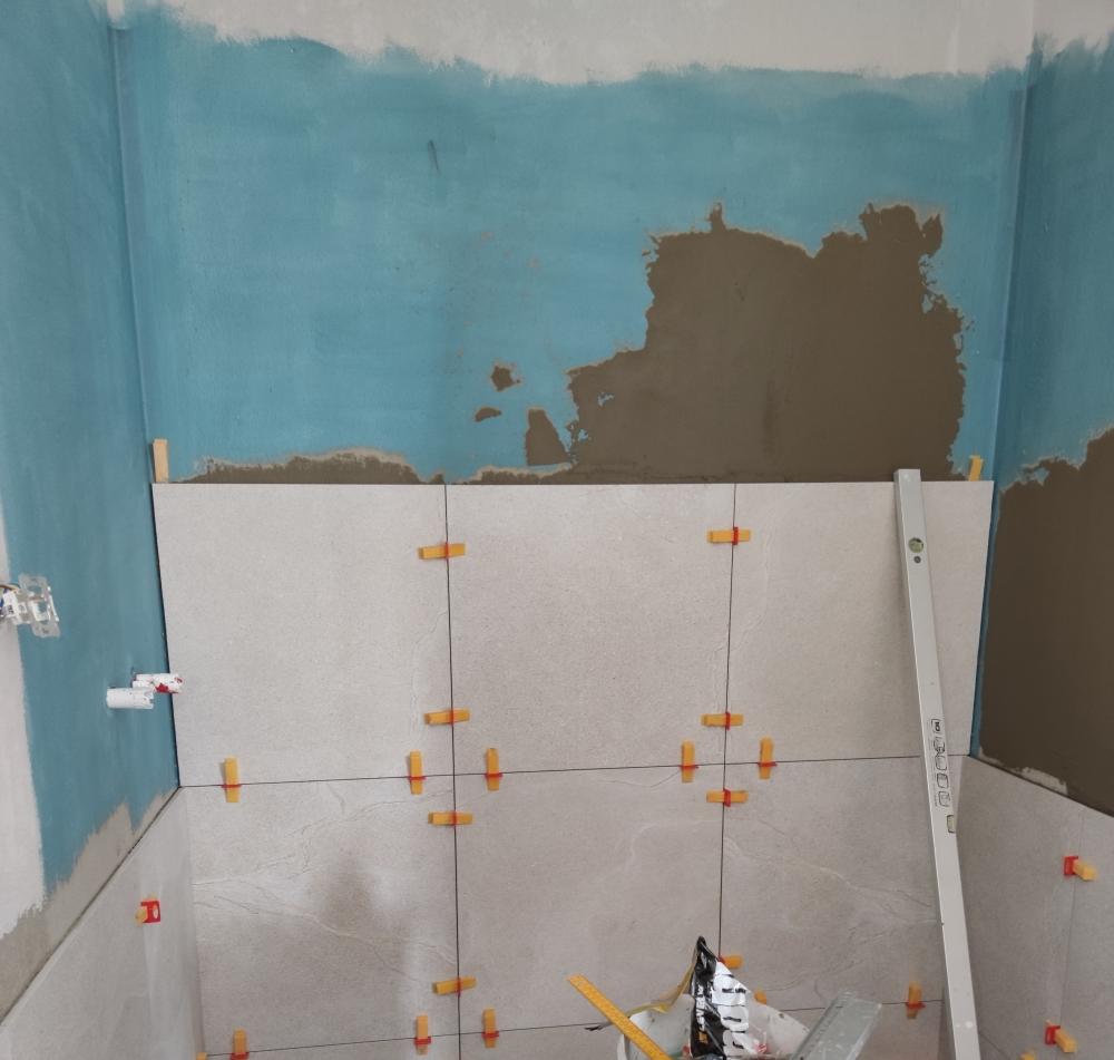 hydroizolacia na stenu, kupelna hydroizolacia, levelys